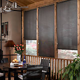 Premium Solar Shades: 10% Openness