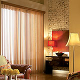 Signature Faux Wood Vertical Blinds