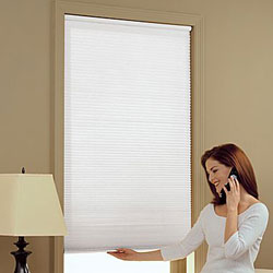 Cordless 3/8 inch Single Cell Light Filtering Shades