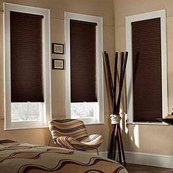 Cordless 1/2 inch Single Cell Blackout Shades