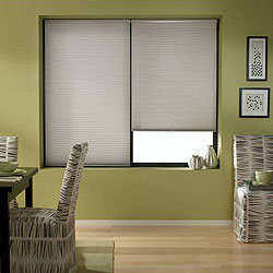 Cordless 1/2 inch Single Cell Light Filtering Shades