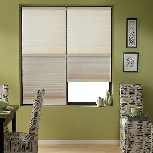 Cordless 12 DayNight Single Cell Cellular Shades