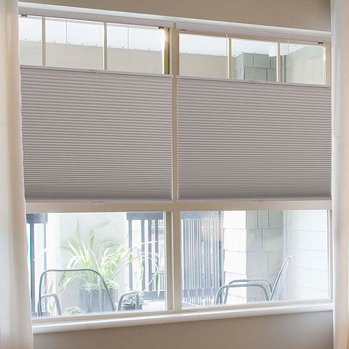 Cordless Top Down Bottom Up 12 Single Cell Blackout Shades