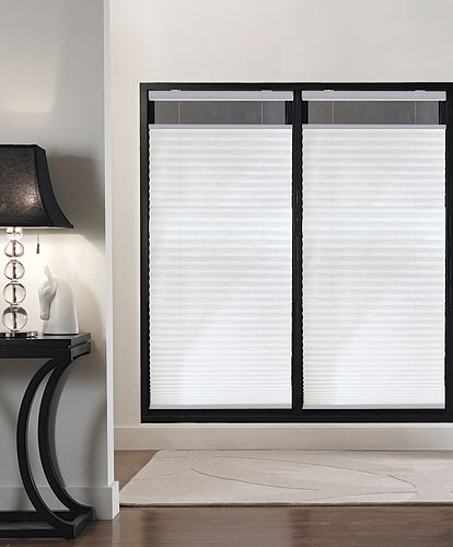 cordless top down bottom up pleated shades oxford collection awardblinds. Black Bedroom Furniture Sets. Home Design Ideas