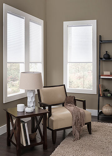 Cordless Pleated Shades Oxford Collection Awardblinds