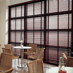 Premium 2 inch Wood Blinds - 3-on-1 Headrail