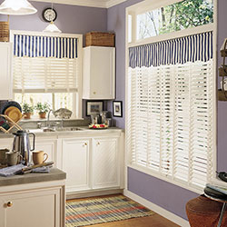 Premium 2 inch Wood Blinds - Crisp White