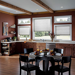 "Premium 3/4"" Single Cell Light Filtering Cellular Shades"
