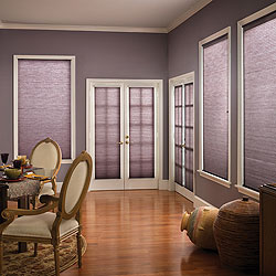 "Premium 1/2"" Double Cell Light Filtering Cellular Shades"