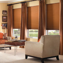 "Premium 1/2"" Single Cell Blackout Cellular Shades"