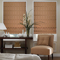 Premium Roman Shades - Pleated Fold