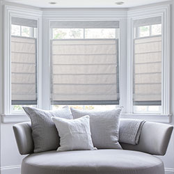 Premium Roman Shades - Top Down Bottom Up