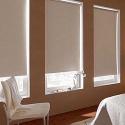 Signature Blackout Vinyl Roller Shades