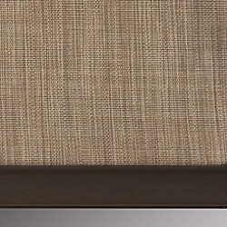 Signature Roller Shades - External Aluminum Hem Bar (Bronze)