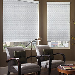 Signature Roller Shades - Linen Look White