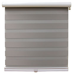 Zebra Room Darkening Dual Sheer Shades - Cordless