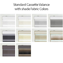 Zebra Light Filtering Dual Sheer Shades - Standard Headrail Colors