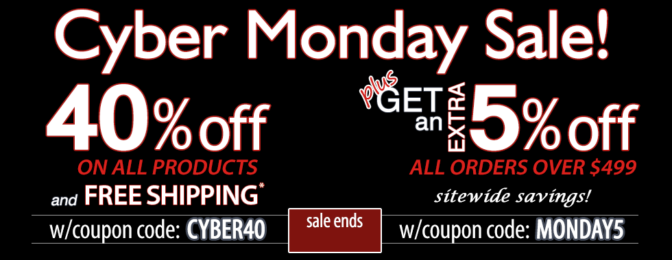 40% off Cyber Monday Week
