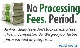 No Processing Fees. Period.
