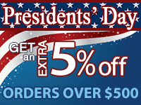 Extra 5% off Orders over $500